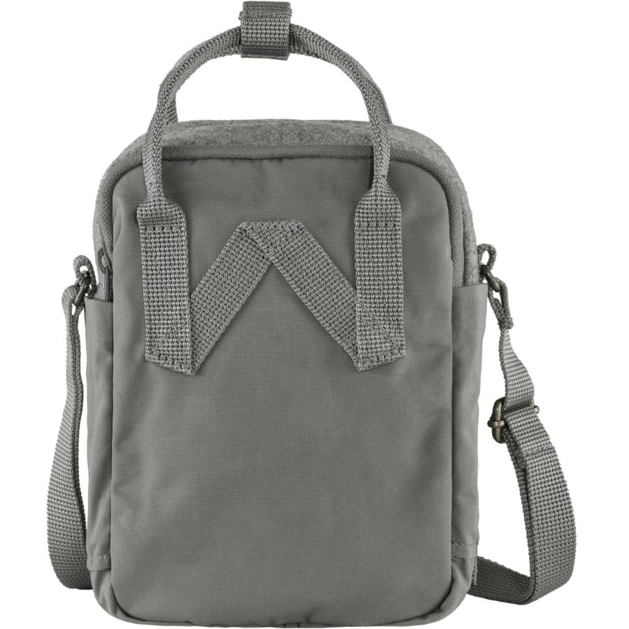 Kanken Re-Wool Sling Backpack Fjallraven Granite Grey