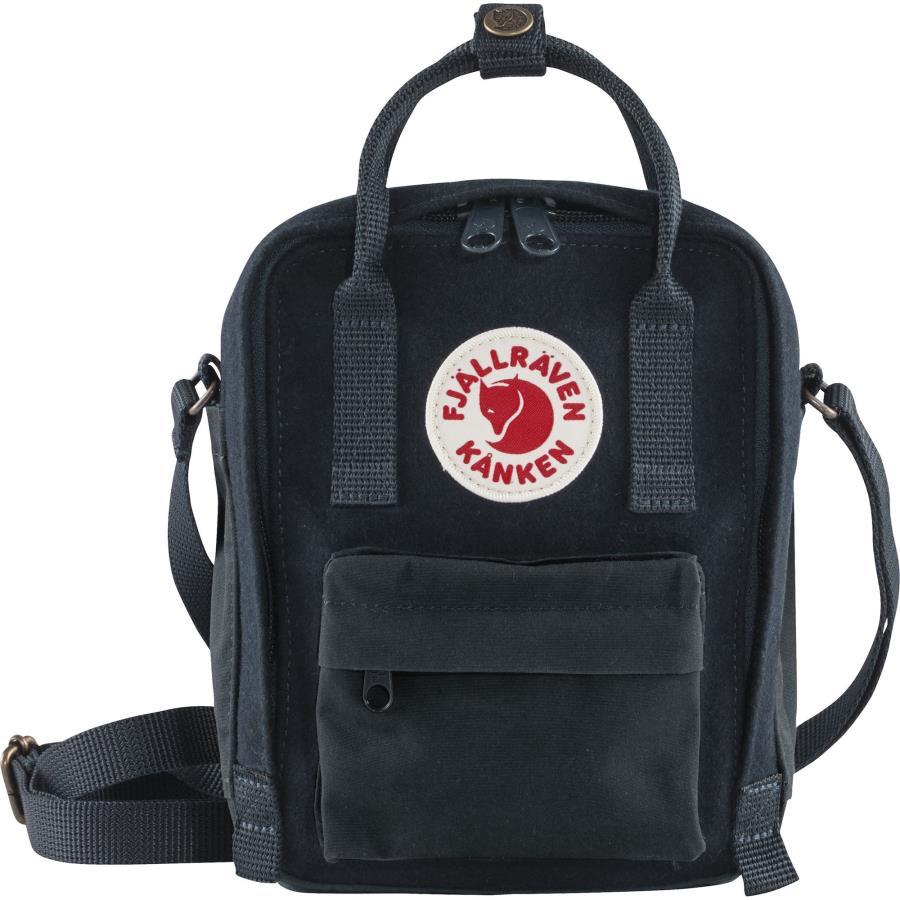 Fjallraven Kanken Re-Wool Sling Shoulder Bag, 2.5L Night Sky
