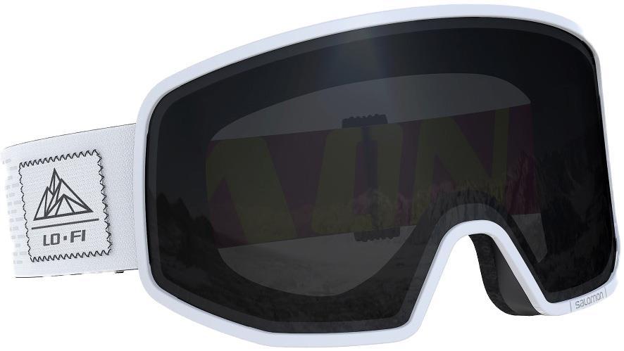 Salomon XT One Universal Super White Snowboard/Ski Goggles, M/L White