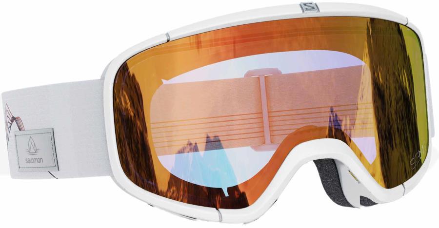 Salomon Four Seven Snowboard/Ski Goggles, M/L White