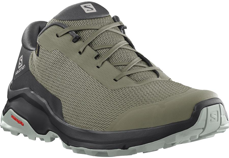 Salomon X Reveal Gore-Tex Hiking Shoes, UK 7.5 Deep Lichen Green