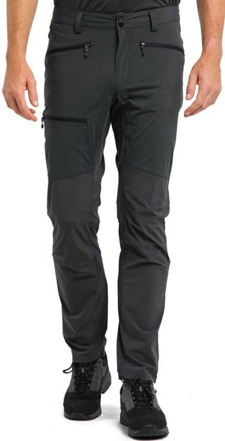 Haglofs Lite Flex Pant Hiking/Walking Trousers, M Magnetite