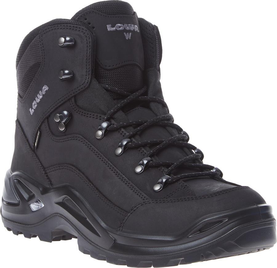 Lowa Renegade GTX Mid Wide Men's Hiking Boots, UK 7.5 Deep Black