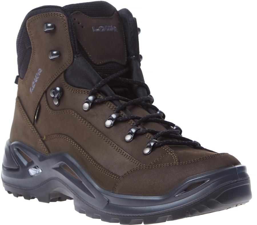 Lowa Renegade GTX Mid Gore-Tex Hiking Boot UK 12 Dark Brown/Black