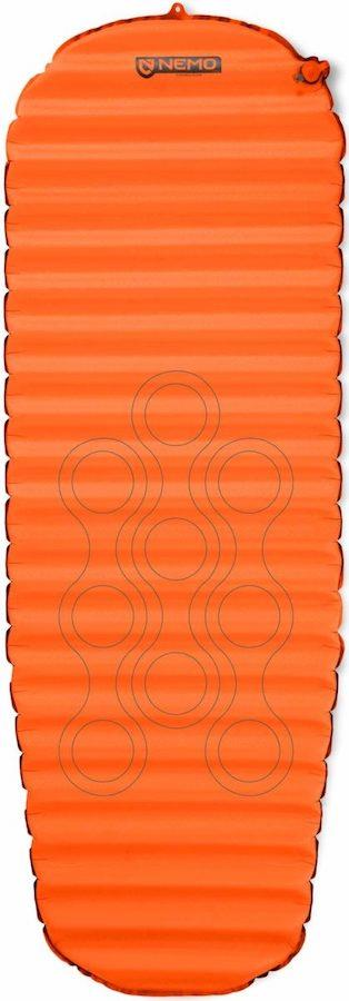Nemo Flyer Self Inflating Camping Airbed, Long Wide Desert Dawn