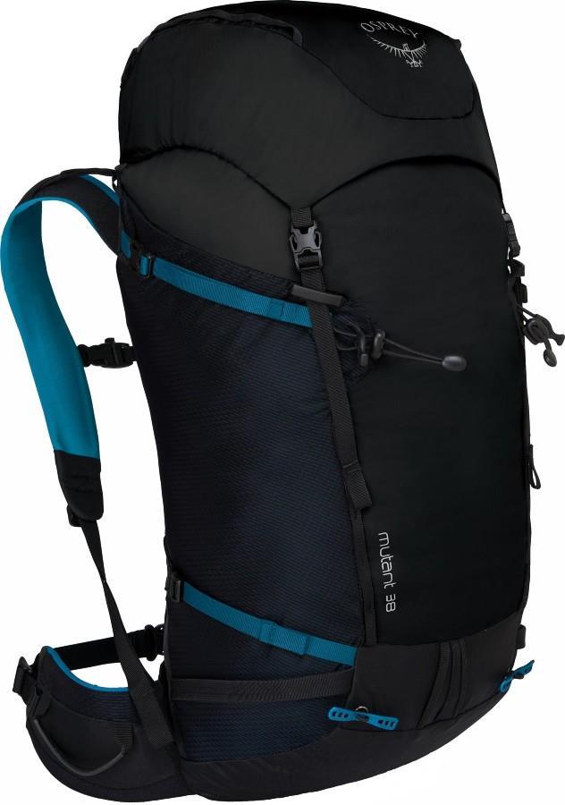 Osprey Mutant 38 S/M Alpine & Climbing Backpack, Black Ice