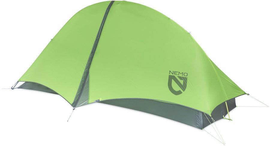 Nemo Hornet 1 Ultralight Backpacking Tent, 1 Man Birch Leaf