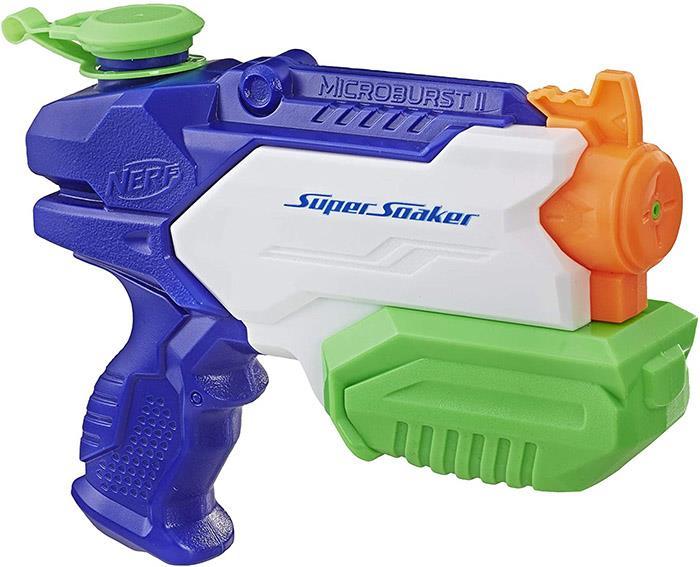 Nerf Microburst 2 Super Soaker, Water Gun Blaster Pistol, 300ml