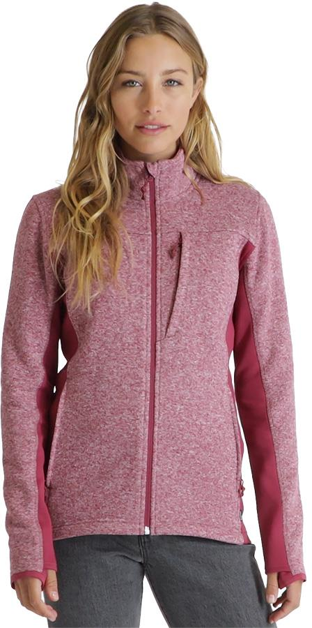 Burton Minxy Performance Women's Full-Zip Fleece UK 8-10 Spiced Plum