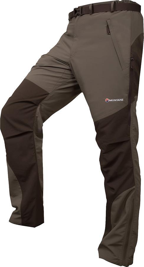 Montane Terra Pants 4 Season Walking Trousers XL Flint Regular