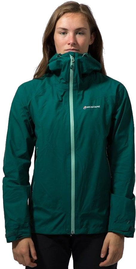 Montane Pac Plus Gore-Tex Women's Shell Jacket UK 12 Wakame Green