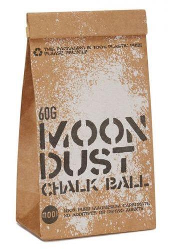 Moon Moon Dust Rock Climbing Gym Chalk 300g Black