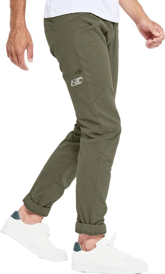 Looking For Wild Adult Unisex Fitz Roy Technical Climbing Pants, Xl Winter Moss