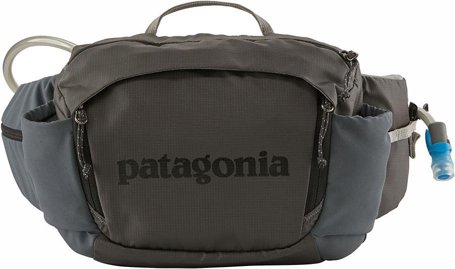 Patagonia Nine Trails Hiking BumbagWaist Pack, 8L Forge Grey