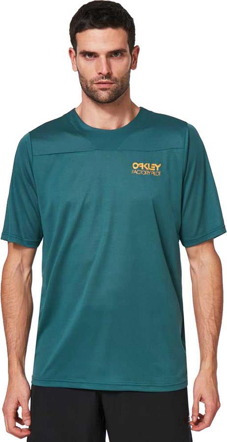 Oakley Cascade Trail T-shirt, M Bayberry
