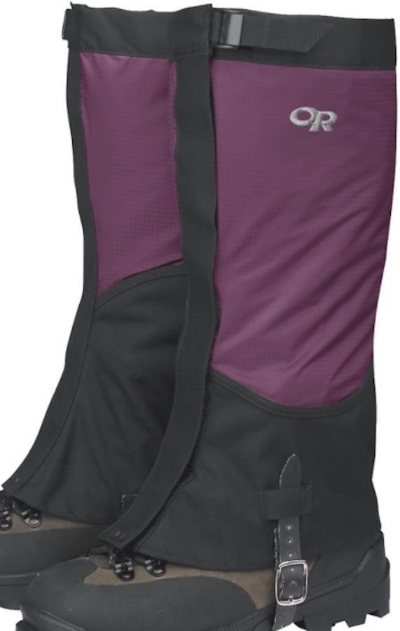 Outdoor Research Verglas Women's Waterproof Boot Gaiters, L Orchid