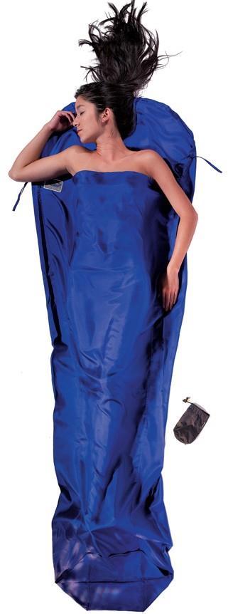 Cocoon MummyLiner Silk Ultralight Sleeping Bag Liner, Ultramarine