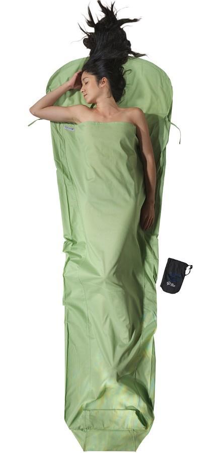 Cocoon MummyLiner Organic Cotton Sleeping Bag Liner Regular Forest