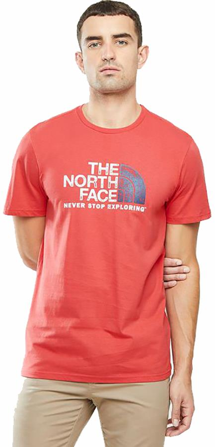 The North Face Rust 2 Cotton T-Shirt, L Rococco Red