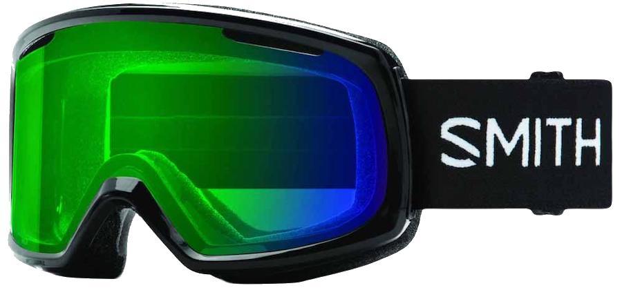Smith Womens Riot Black, Cp Ed Green Women's Snowboard/Ski Goggles, M