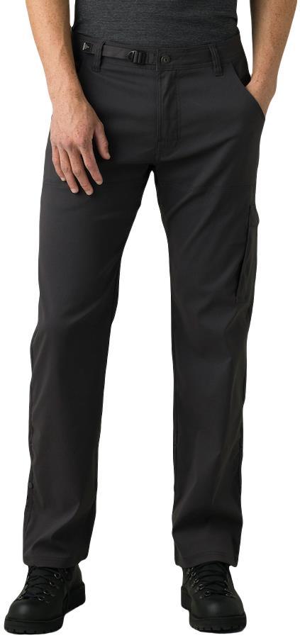 Prana Stretch Zion Men's Climbing Trousers S Charcoal Regular 2021