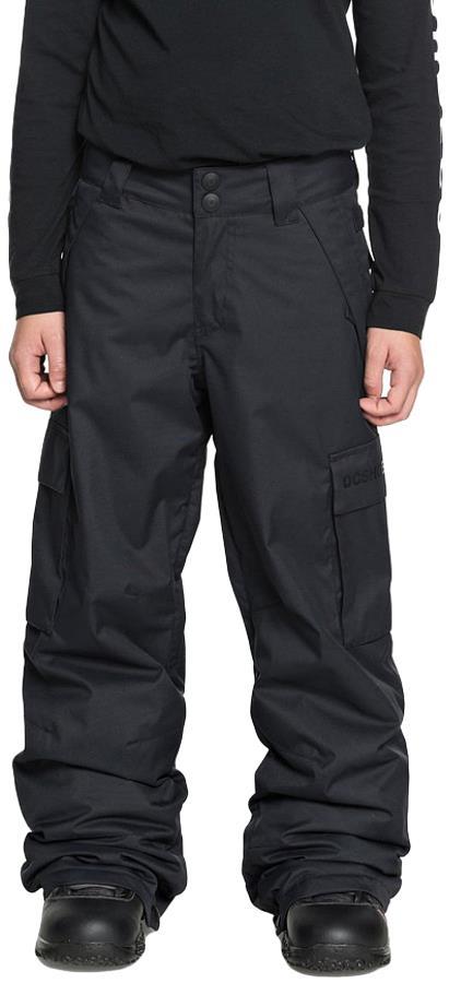 DC Banshee Youth Kid's Ski/Snowboard Pants, S Black
