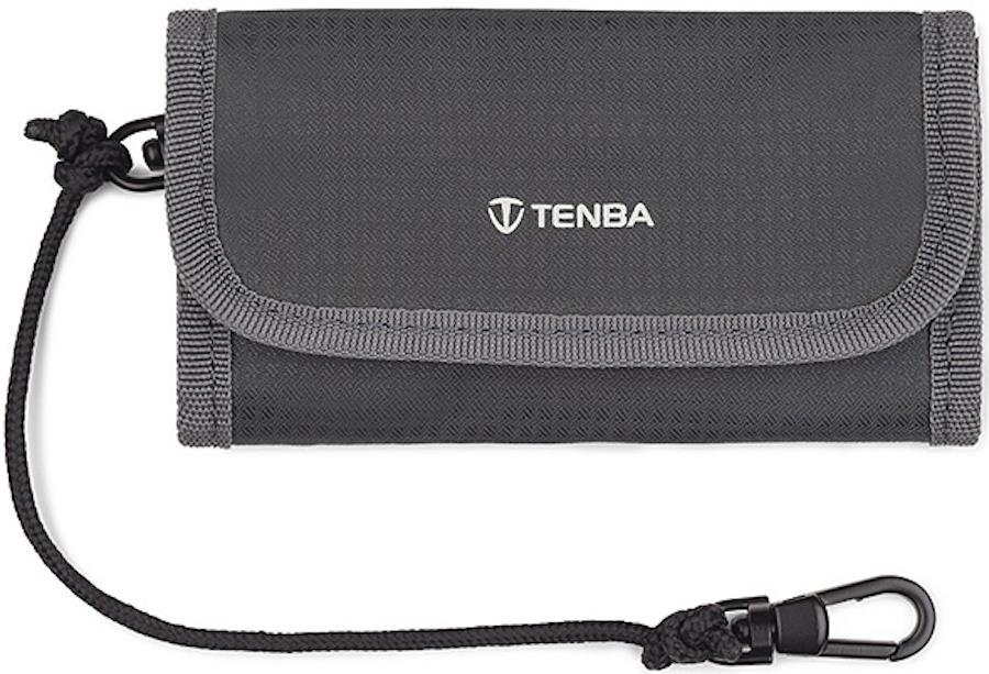 Tenba Reload SD9 Memory Card Wallet/Carry Case, Grey