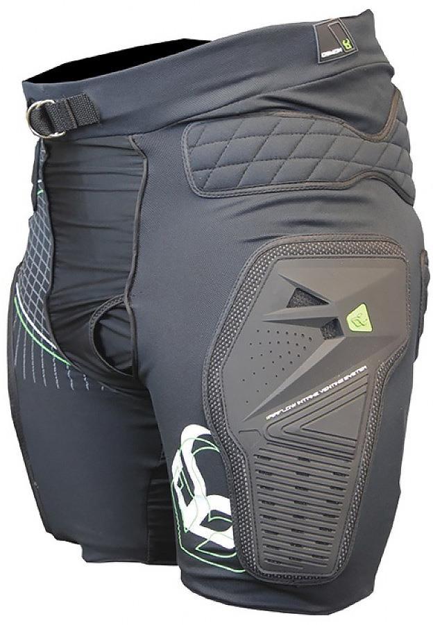 Demon Shield Mountain Bike Impact Shorts, XL Black