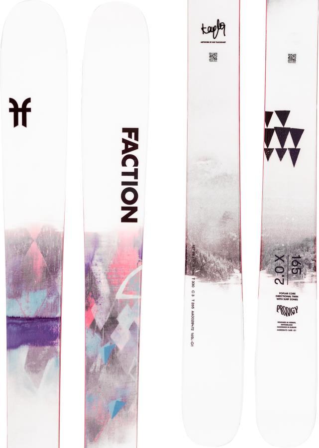 Faction Prodigy 2.0 Ski Only Skis, 165cm X 2021