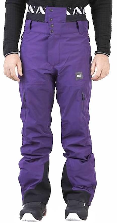 Picture Mens Object Ski/Snowboard Pants, Xl Dark Purple