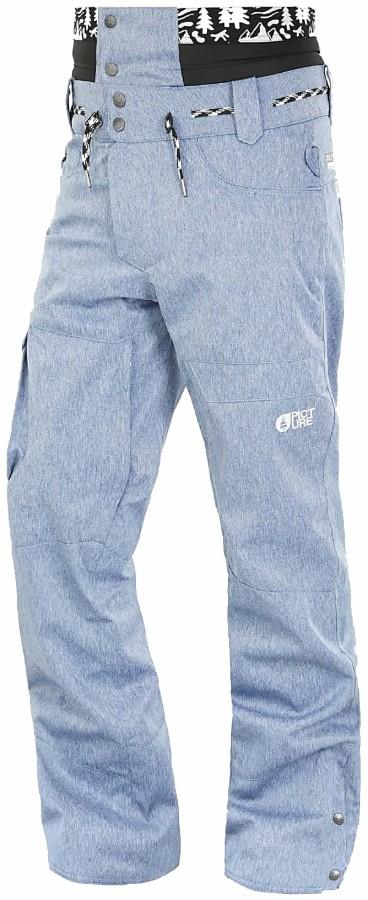 Picture Under Ski/Snowboard Pants, XL Denim