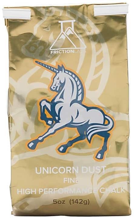 Friction Labs Unicorn Dust Rock Climbing Gym Chalk, 5.0oz (141.7g)