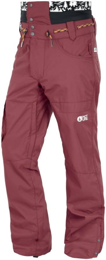 Picture Under Ski/Snowboard Pants, L Ketchup