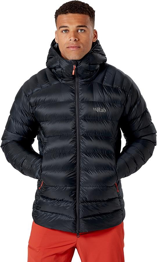 Rab Electron Pro Insulated Hooded Down Jacket, M Beluga