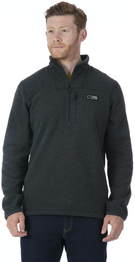 Rab Quest Pull-on Half-zip Hiking Fleece, XL Anthracite