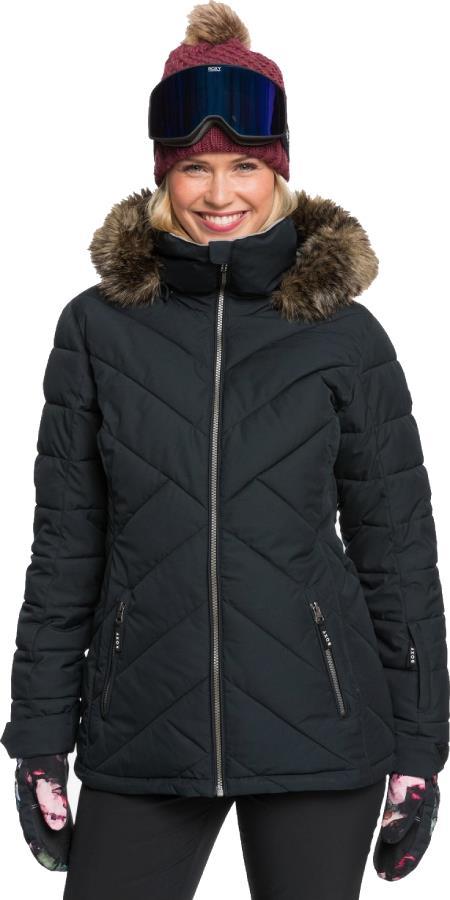 Roxy Quinn Women's Snowboard/Ski Jacket L True Black