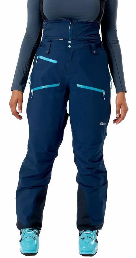 Rab Khroma Gore-Tex Wmns Ski/Snowboard Bib Pants, M Deep Ink
