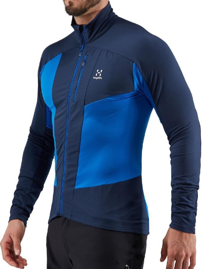 Haglofs L.I.M Rock Mid-layer Stretch Fleece Active Jacket S Blue