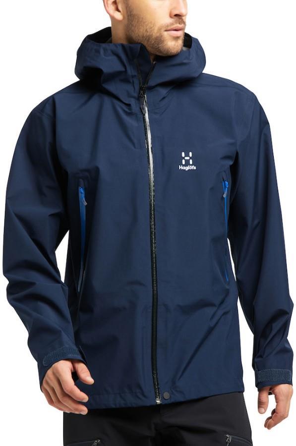 Haglofs Roc GTX Waterproof Gore-Tex® Jacket, L Tarn Blue