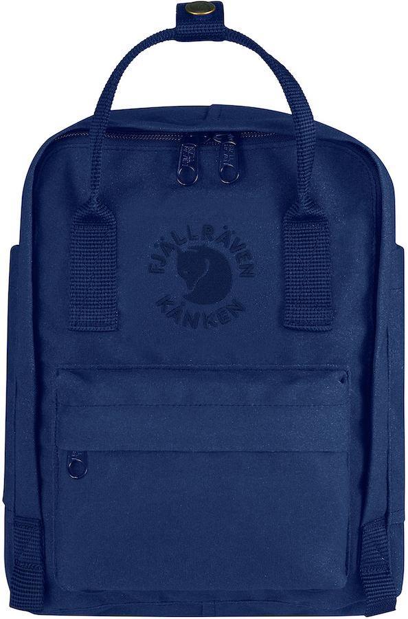 Fjallraven Re-Kanken Mini Backpack/Kids' Rucksack, 7L Midnight Blue