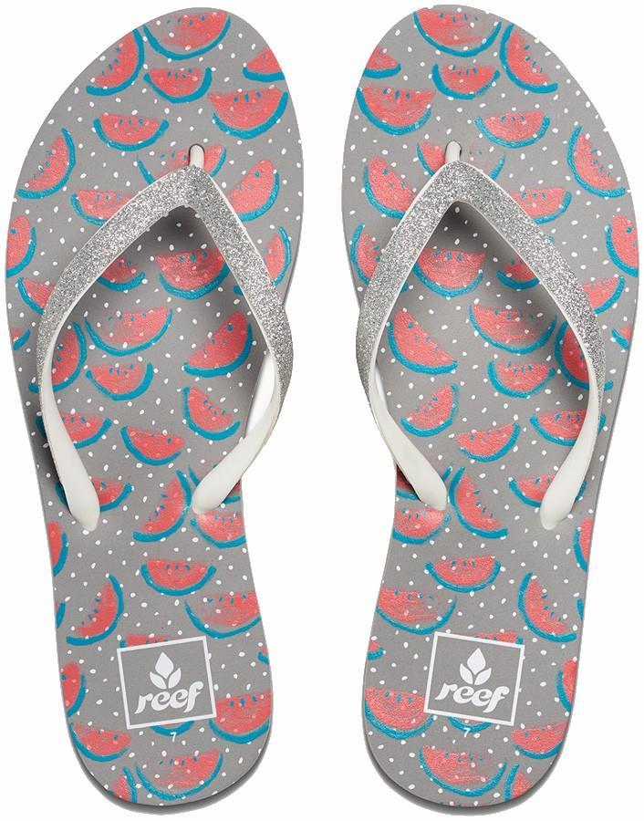 Reef Stargazer Women's Flip Flops UK 8 Watermelon Prints