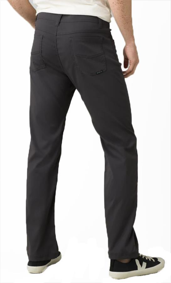 Prana Brion Regular Men's Rock Climbing Trousers, S Charcoal