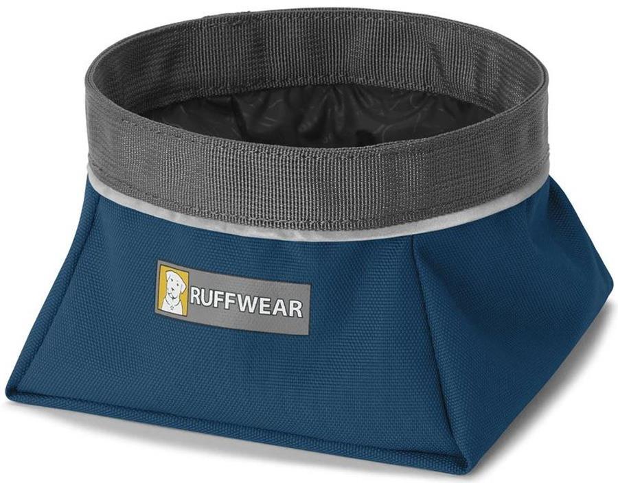 Ruffwear Quencher Dog Water/Food Bowl S Blue Moon