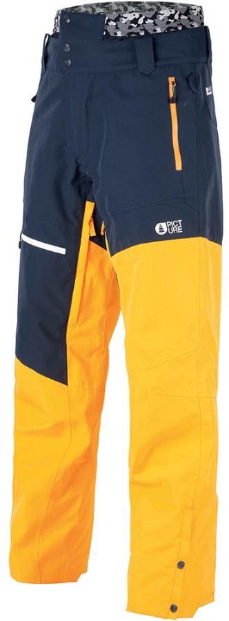 Picture Alpin Ski/Snowboard Pants, XL Safran Dark Blue