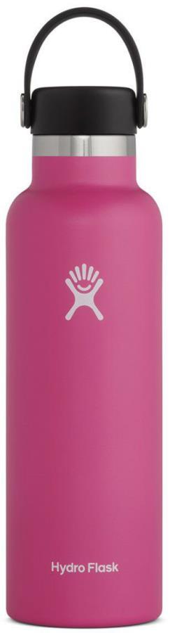 Hydro Flask 21oz Standard Mouth With Flex Cap, 21oz Carnation