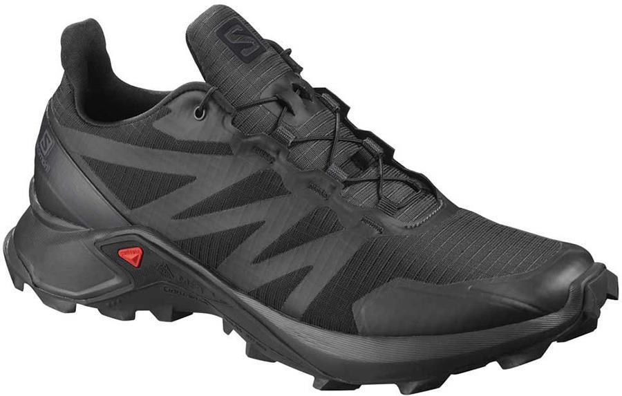 Salomon Supercross Men's Trail Running Shoe, UK 10.5 Black