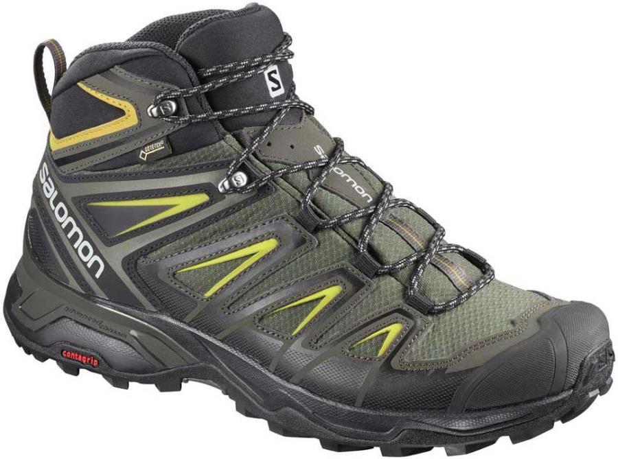 Salomon X ULTRA 3 Mid GTX Hiking Boots, UK 11 Castor Grey
