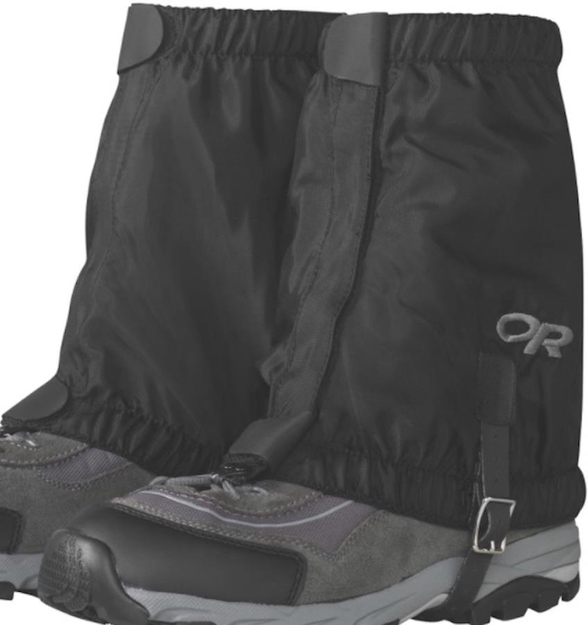 Outdoor Research Rocky Mountain Low Boot Gaiters, S/M Black