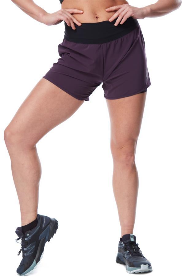 Scott Trail Run Women's DRYOxcell Running Shorts, UK 8-10 Dark Purple