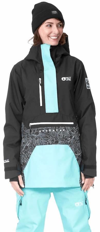 Picture Season Women's Pullover Ski/Snowboard Jacket, S Feathers